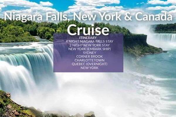 Niagra Falls, New York, Canade Cruise