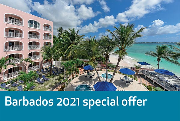 Barbados 2021 Special Offer – 7 Nights – £899pp