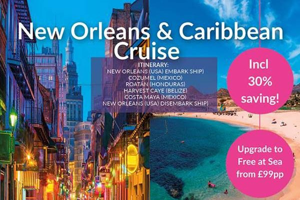 New Orleans & Caribbean Cruise